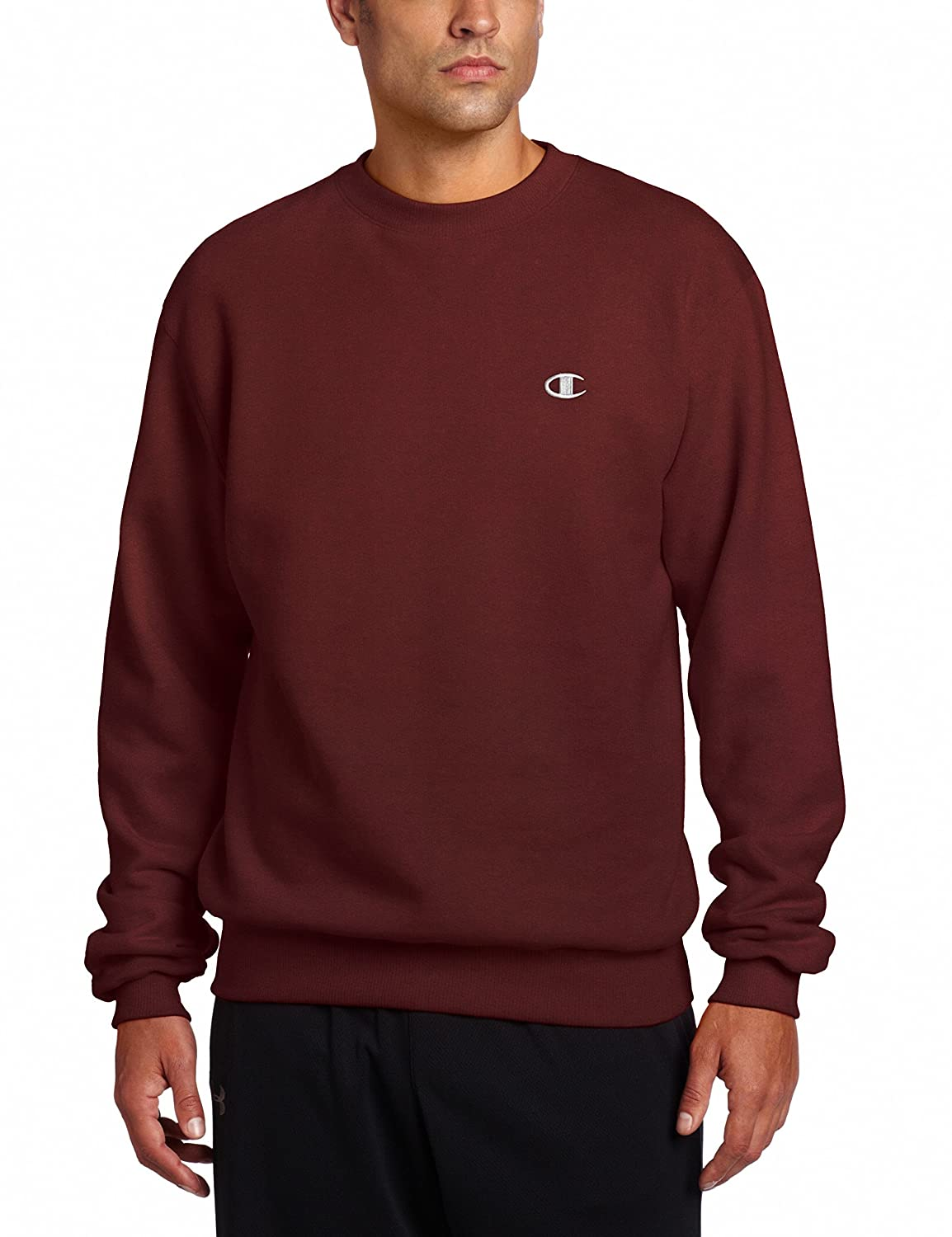 Amazon.com  Champion Men s Pullover Eco Fleece Sweatshirt  Clothing 5d931c92eeef