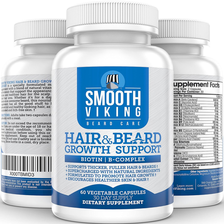 Amazon.com: Pastillas Para Hacer Crecer La Barba - Tratamiento - 60 Capsulas: Health & Personal Care