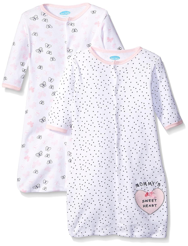 Bon Bebe Girls Butterfly Assorted 2 Pack Sleep Sack
