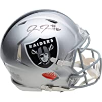 $399 » Josh Jacobs Las Vegas Raiders Autographed Riddell Speed Authentic Helmet - Fanatics Authentic Certified