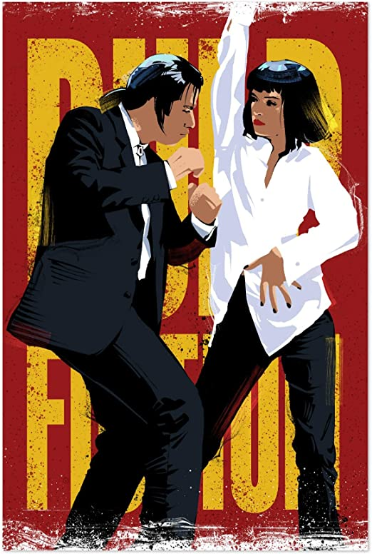 One Piece Wall Art Print. Pulp Fiction Poster