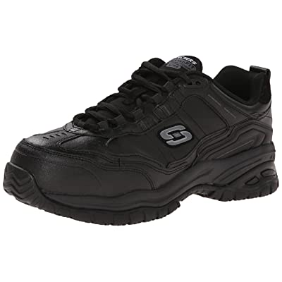 Skechers for Work Men's Soft Stride-Chatham Lace-Up Slip Resistant Sneaker: Shoes