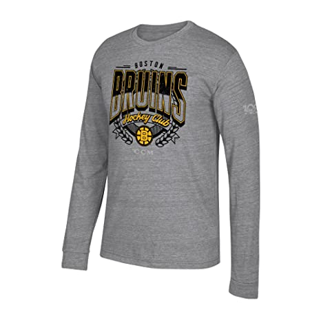 Amazon.com   adidas NHL Mens Centennial Fly High Tri-Blend L S Tee ... de82b203e