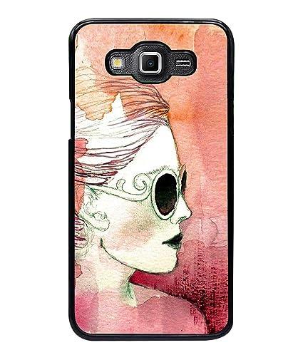 finest selection a3976 fef2c PrintVisa Girl Painting High Gloss Designer Back Case: Amazon.in ...