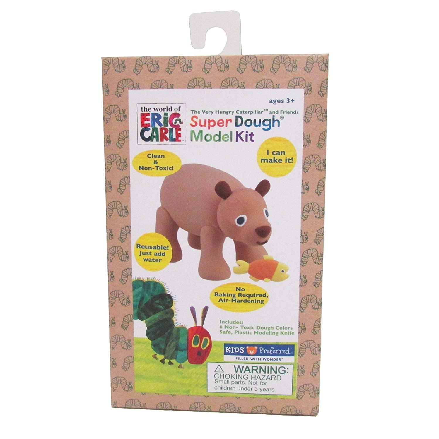 Eric Carle The Very Hungry Caterpillar Brown Bear Super Dough Model Kit
