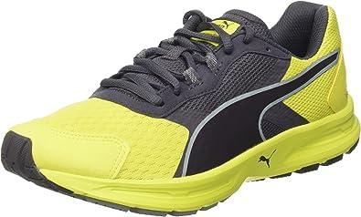 Puma Hombre Descendant V3 Zapatillas para Correr Amarillo Size: 42 ...