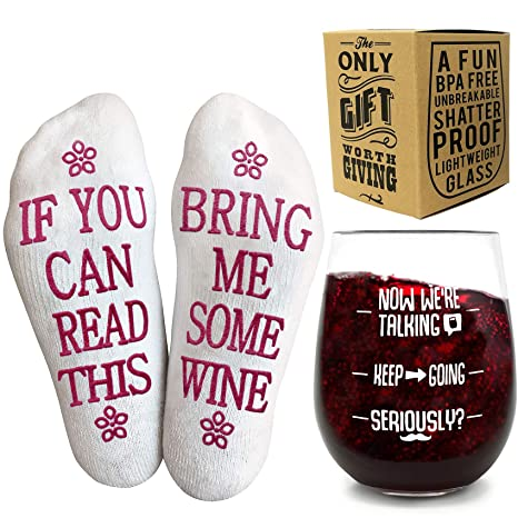 Wine Sock Gift Set