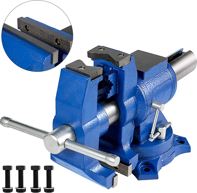 Jbm 53031 Tornillo de banco con base rotativa 4