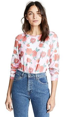 45ce0740c0 Wildfox Women s Electric Love Sweatshirt at Amazon Women s Clothing ...