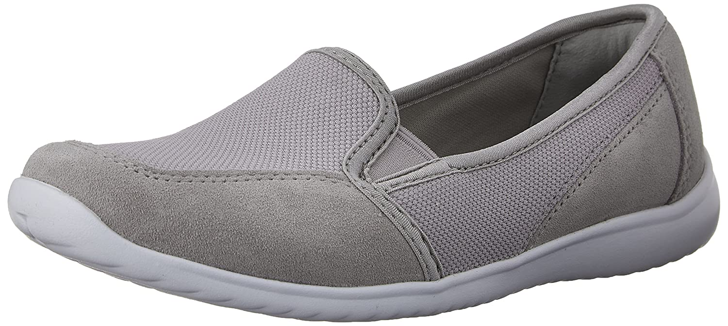 Womens Shoes Clarks Charron Myrtle Grey Synthetic