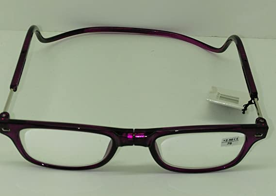 Occhiali da lettura magnetiche Viola vista cansada varias dioptrias sswHidGu