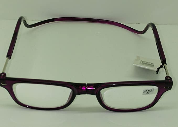 Occhiali da lettura magnetiche Viola vista cansada varias dioptrias lWWCjibHkN