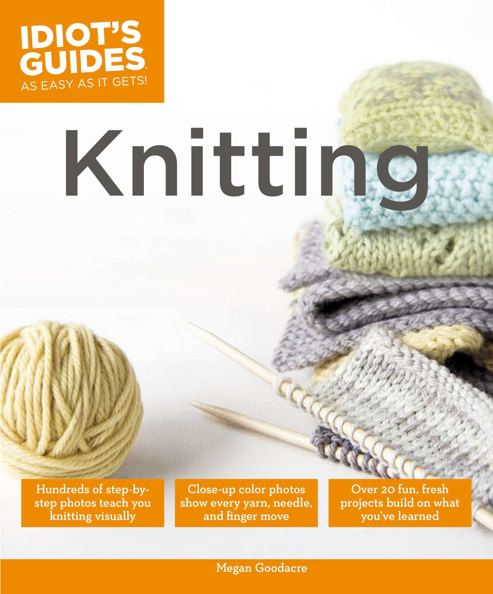 Knitting Idiots Guides Megan Goodacre product image