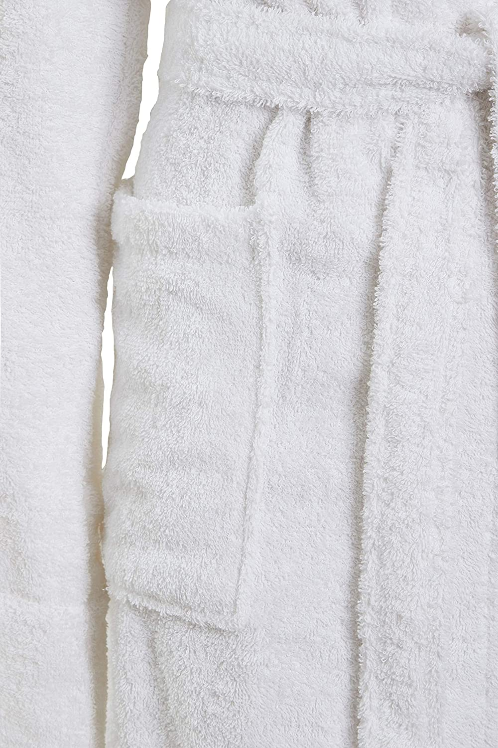 Ultimate Linens Ladies Womens Towel Dressing Gown Robe 100 Cotton