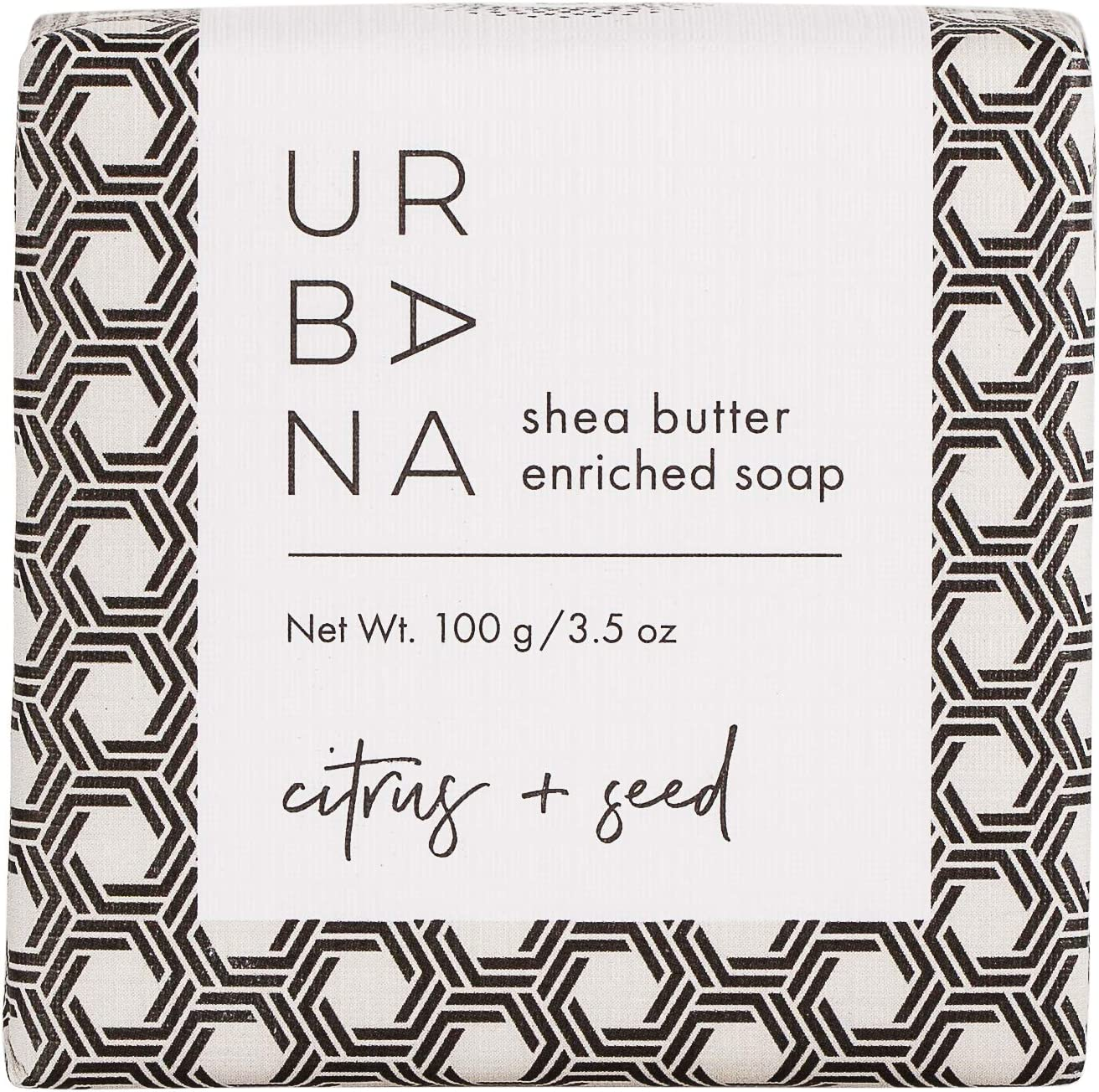 Urbana 75159CS Moisturizing Shea Butter Enriched Bar (3.5oz), EUROPEAN SOAPS (EURAQ)