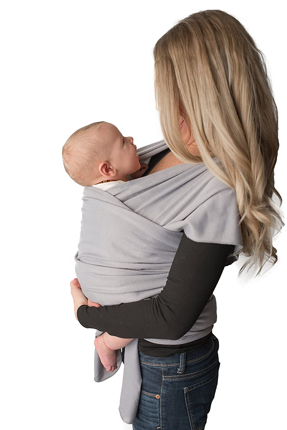 Baby Wrap Carrier Easy To Put On Swaddle Blanket For Close Comfort