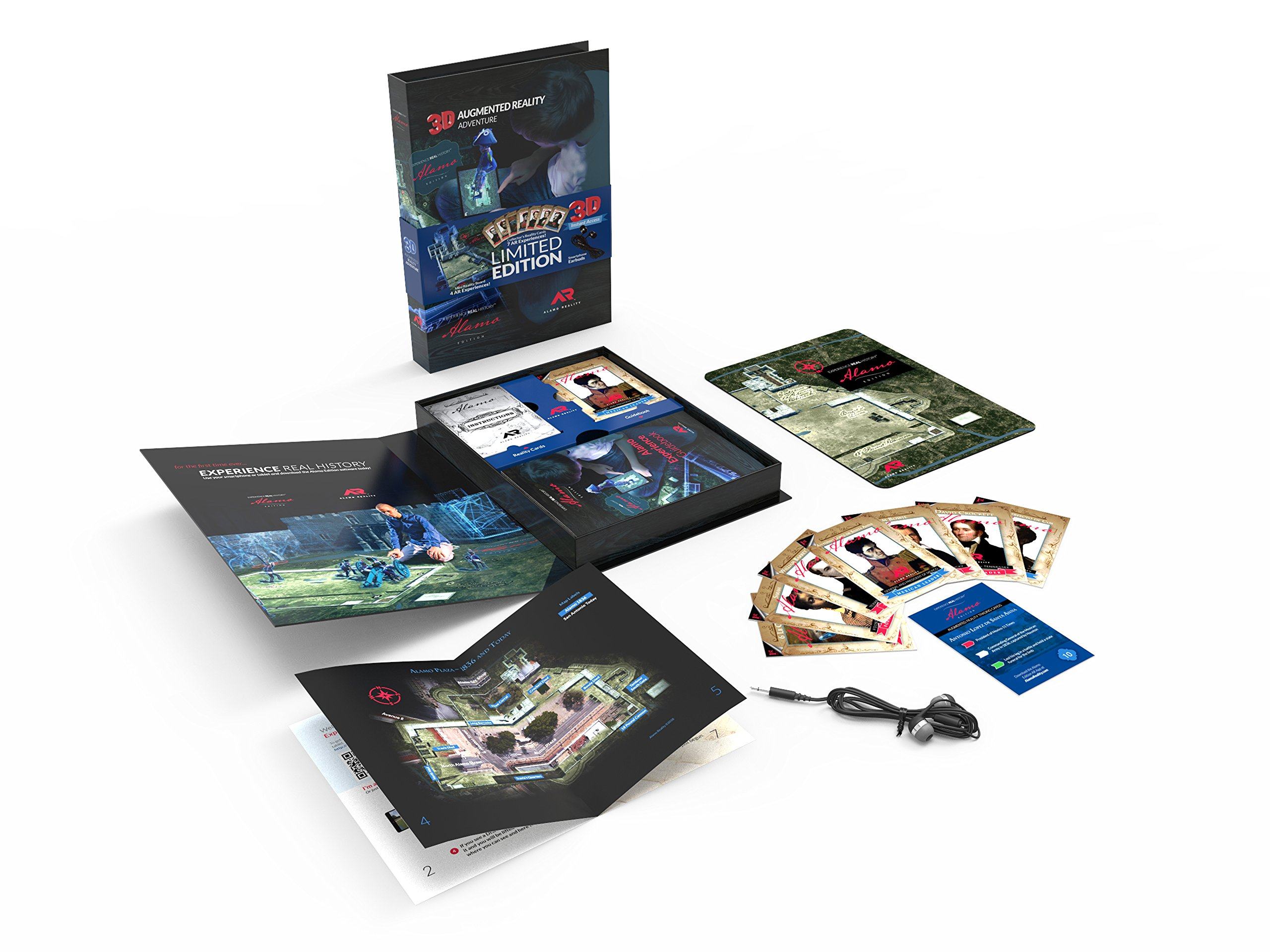 Experience Real History Limited Edition Augmented Reality Mini-Board & Card Set