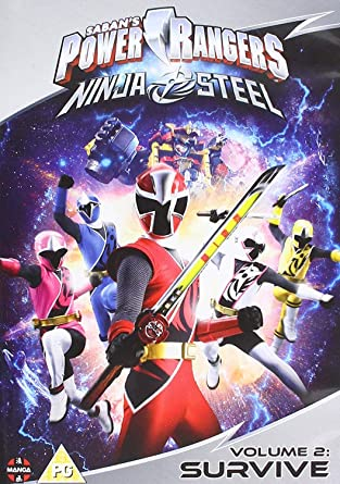 Amazon.com: Power Rangers Ninja Steel: Survive (Volume 2 ...