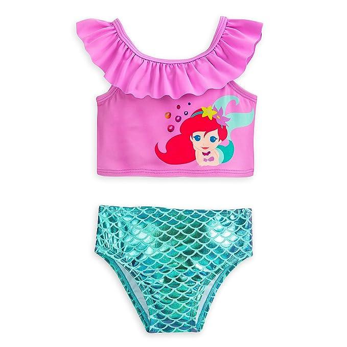 Amazon.com: Ariel de Disney dos piezas traje de baño para ...