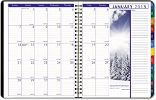 product image for House of Doolittle 273 Earthscapes Weekly/Monthly Planner, 8-1/2 x 11, Black, 2018