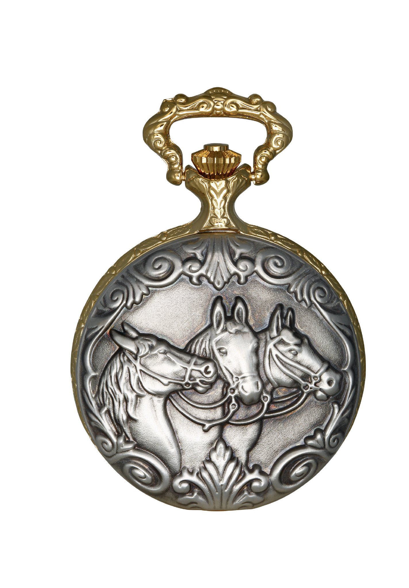 Charles-Hubert, Paris DWA040 Classic Collection Analog Display Japanese Quartz Pocket Watch