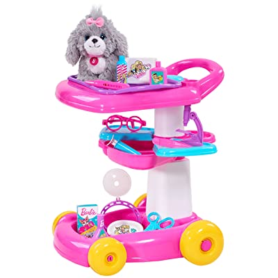 Barbie Pet Care Cart: Toys & Games