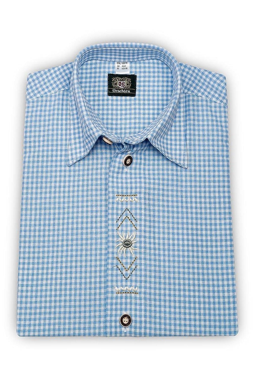 OS-Trachten Jungen Kinderhemd hellblau Dominik 140918