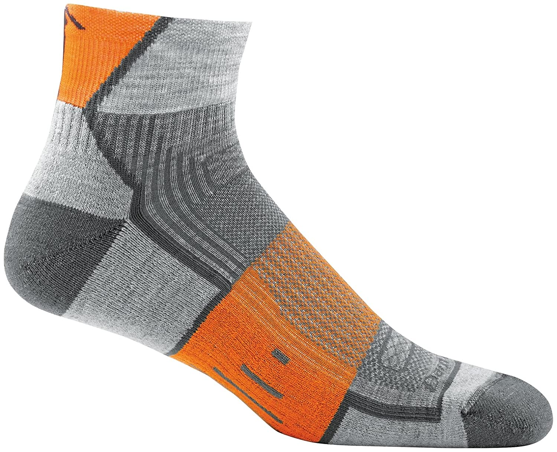 Darn Tough Grit 1//4 Light Cushion Sock Mens
