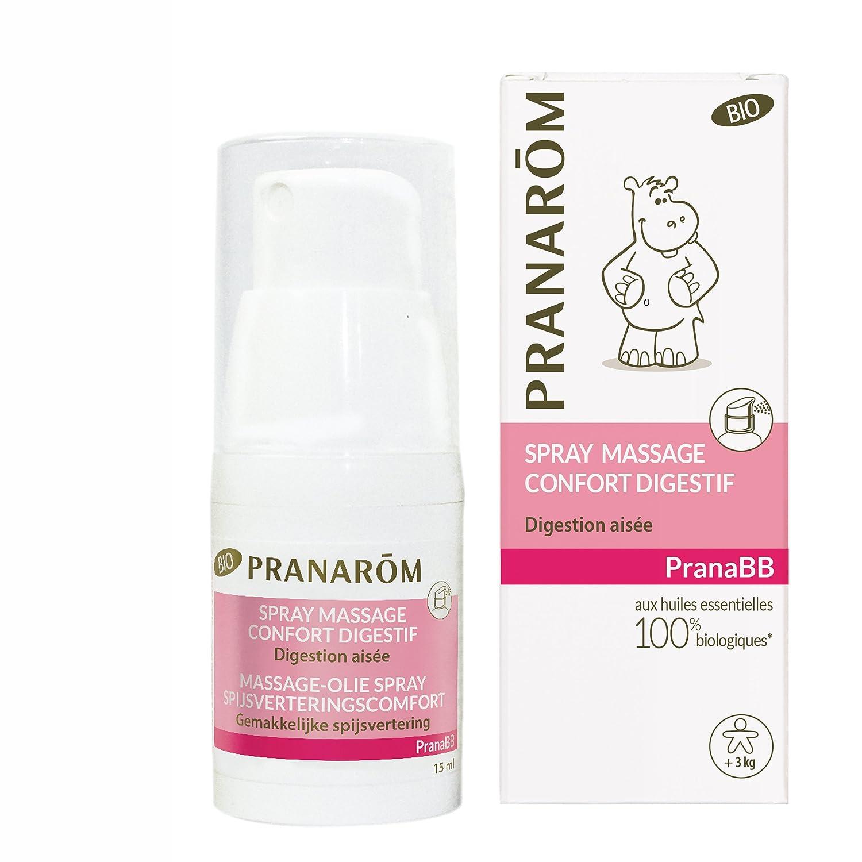 Pranarôm Pranabb Spray Massage Confort Digestif Bio Eco 10274