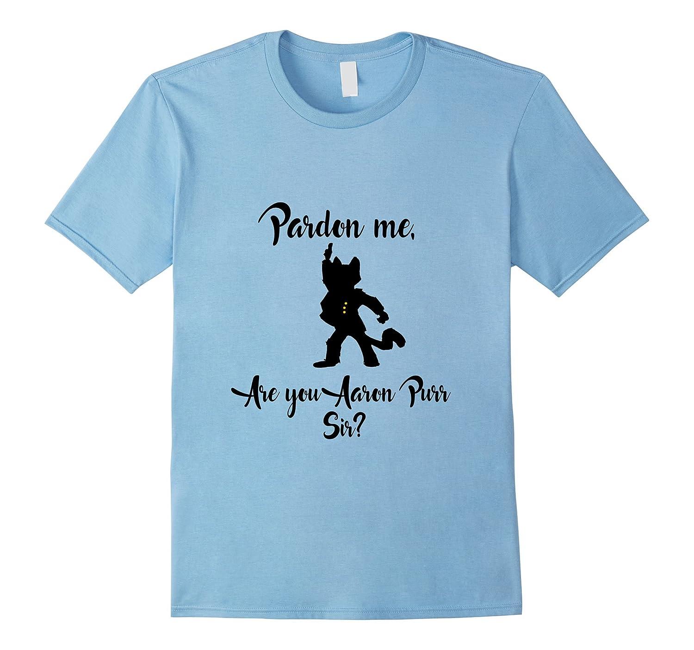 The Hamilton Cat Aaron Purr T-shirt Tee
