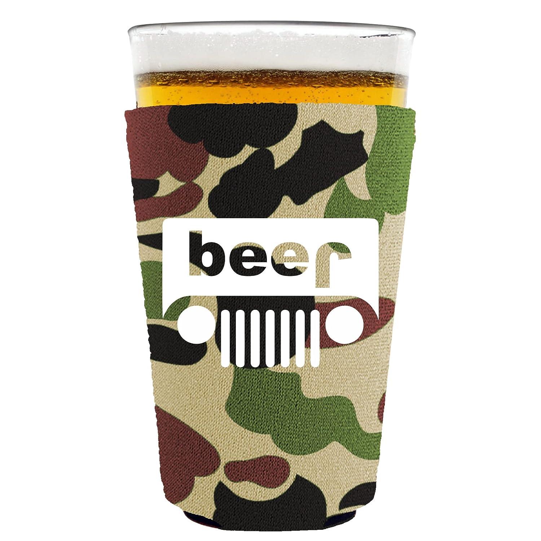 Coolie Junction Beer Truck Neoprene Pint Glass Coolie