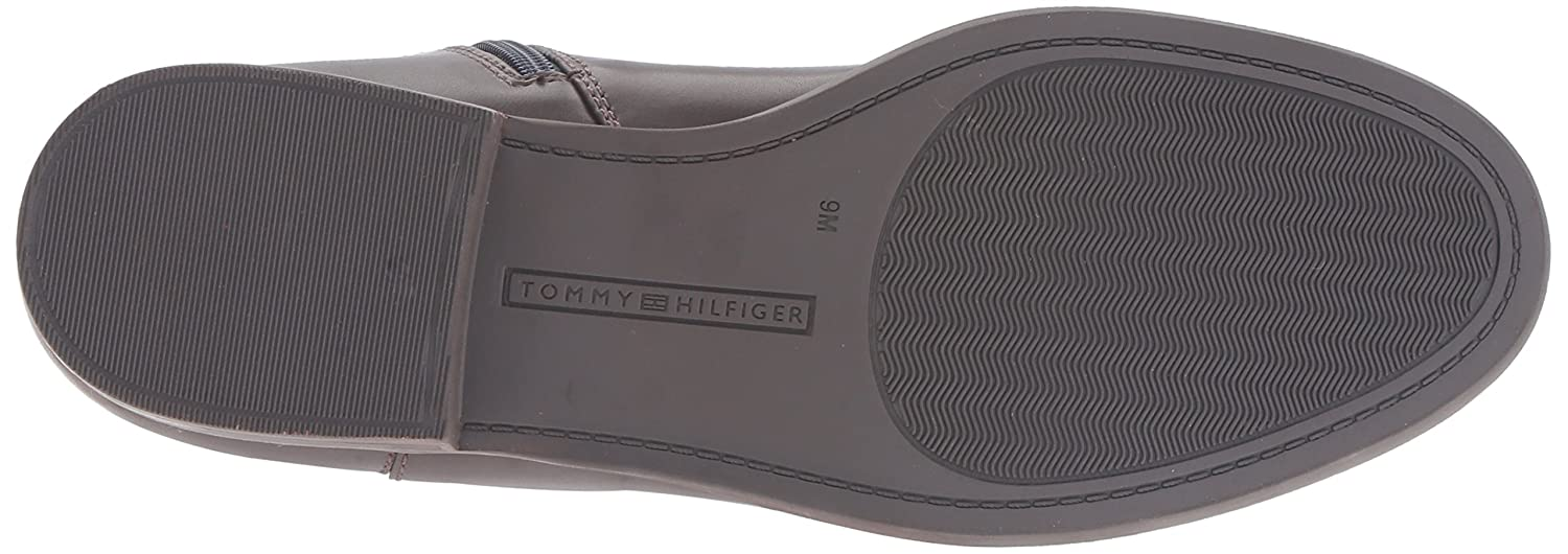 Tommy Boot Hilfiger Women's Sunny Equestrian Boot Tommy B01HDS1PVO 6 B(M) US|Marine/Chocolate 8b2001