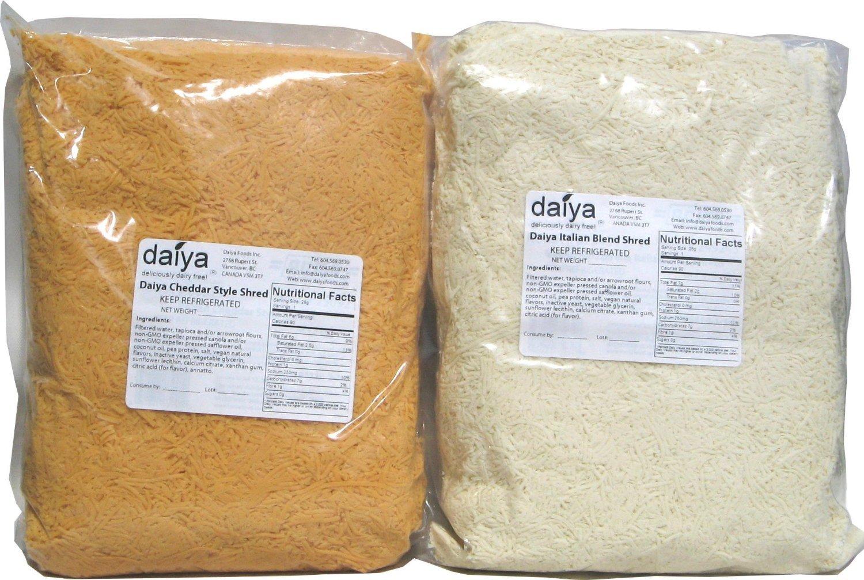 Daiya Vegan Cheese Shreds, 5 lb. Cheddar