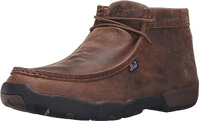 Justin Men's Waxy Dark Driver Moc Shoes