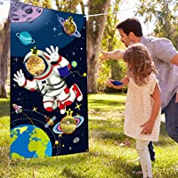 Blulu Suministros de Fiesta de Cumpleaños Espacial, Juguete