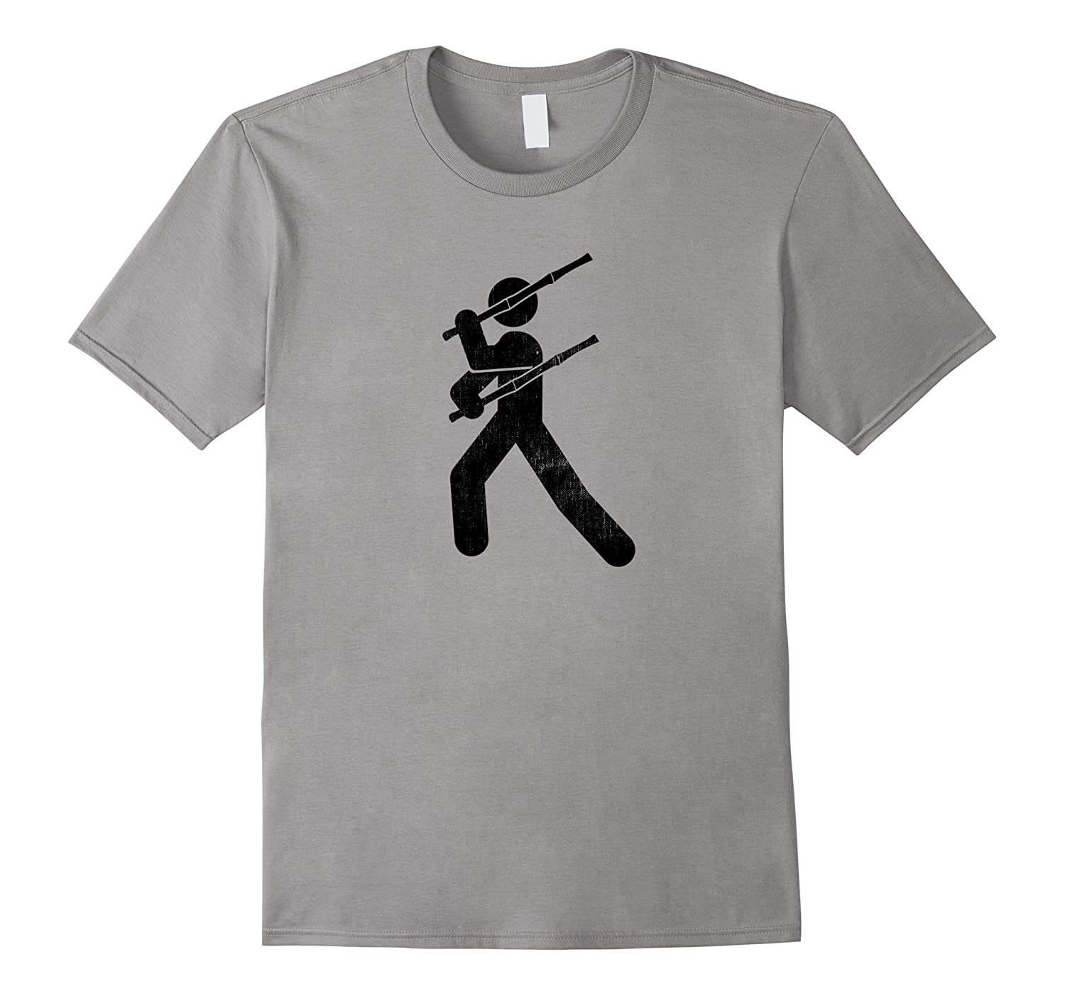 Filipino Martial Art - Eskrima Kali Arnis Stick Man T-Shirt-T-Shirt