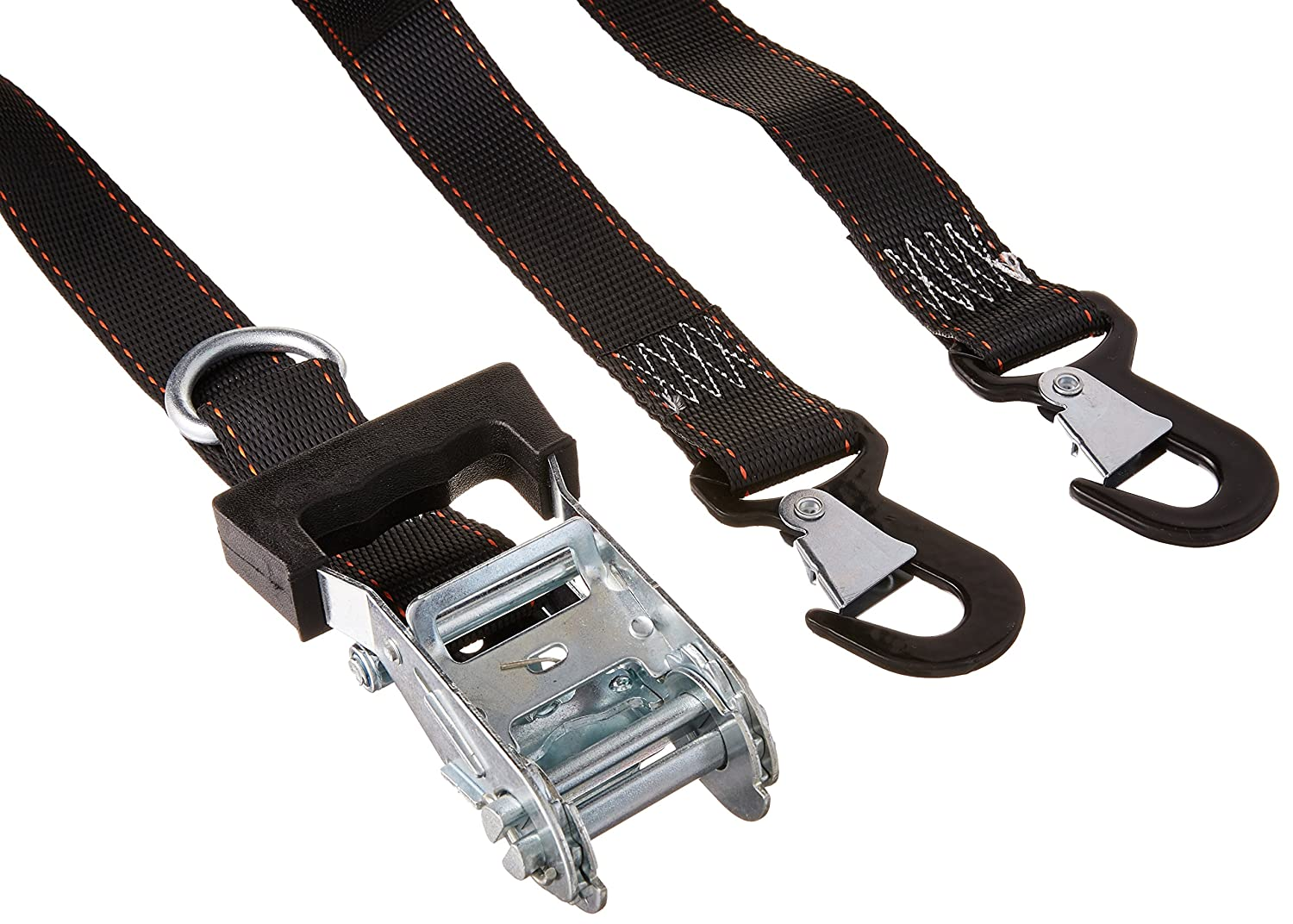 Pack of 2 Keeper 05723 1 1//2 by 8 Heavy-Duty Motorcycle and ATV Tie Down