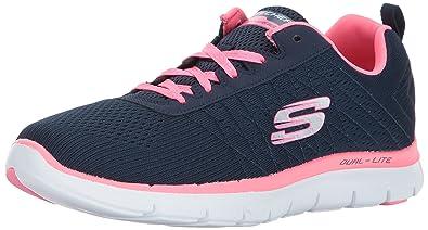 3469bbe96790 Skechers Women s Flex Appeal 2.0 Low-Top Sneakers  Amazon.co.uk ...