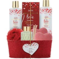 Spa Gift Basket for Women & Girls, Best Gift Idea for Christmas, Mother's Day, Valentines and Birthday, Rosemary Bath…