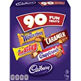 CADBURY Assorted Fun Treats Halloween Chocolate Candy, 90 count, 1kg