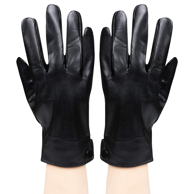 a9ef10812f5 Bongio Mens designer Gloves (Black): Amazon.in: Clothing & Accessories