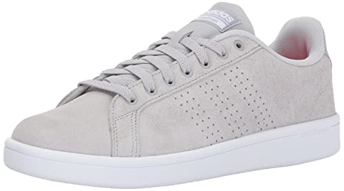 Adidas size 12 Men's Neo Classic Gray & White 3 Stripe Cloud