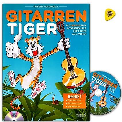 La Guitarra Tiger banda 1 - de espina Buena Guitarra Escuela de ...