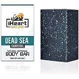 iHeart Nature Soap Bar (6 Ounce) | Organic, Vegan, & Ayurvedic Anti-Aging Ingredients | Natural Artisanal Hand Crafted in USA | Radiant & Glowing Skin | Refreshing Aromatherapy