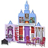 Disney frozen 2 - Fold & Go Arendelle 78cm Castle Play Set - Adventures on the Go - Kids Toys - Ages 3+