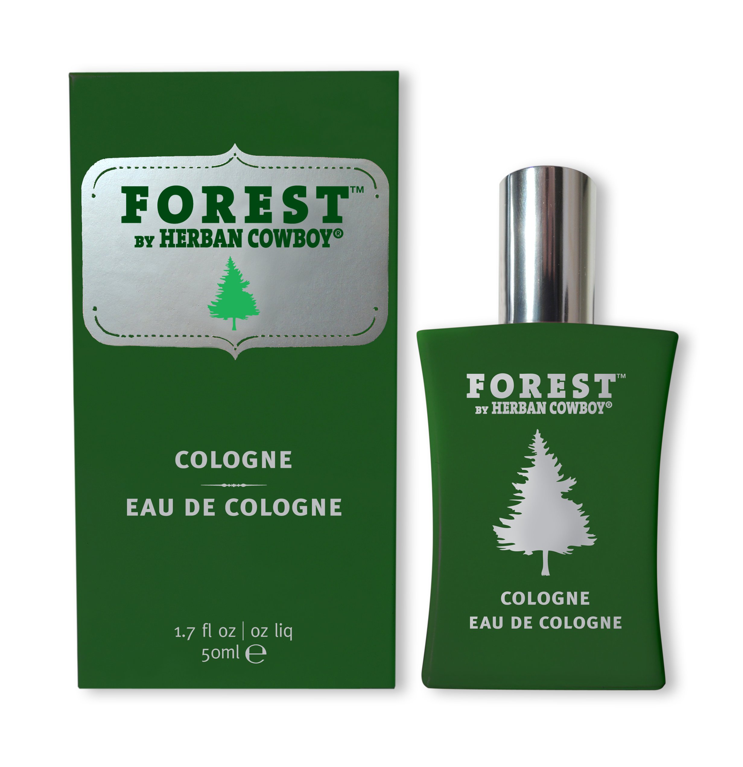 Herban Cowboy Forest Cologne, 1.7 Fluid Ounce