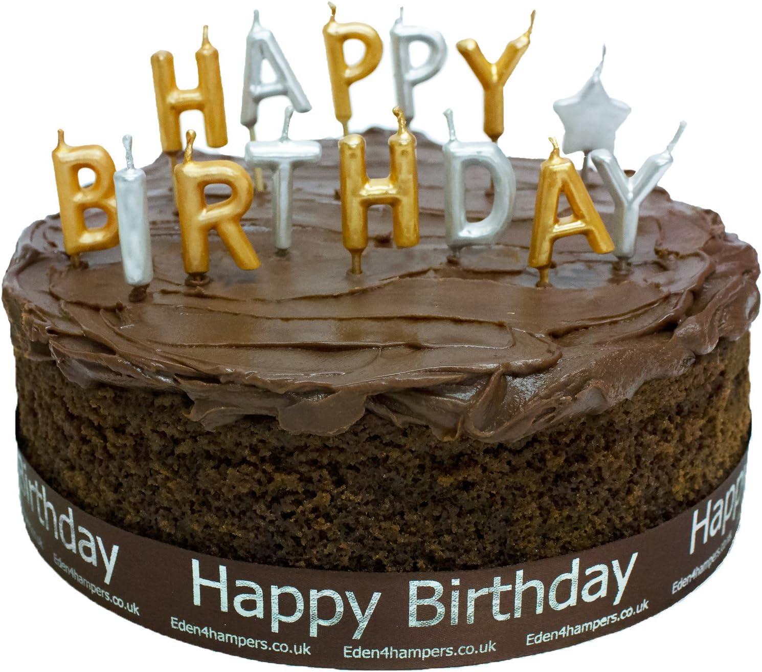 Fantastic Eden4Hampers Luxury Belgian Chocolate Birthday Cake Birthday Funny Birthday Cards Online Necthendildamsfinfo