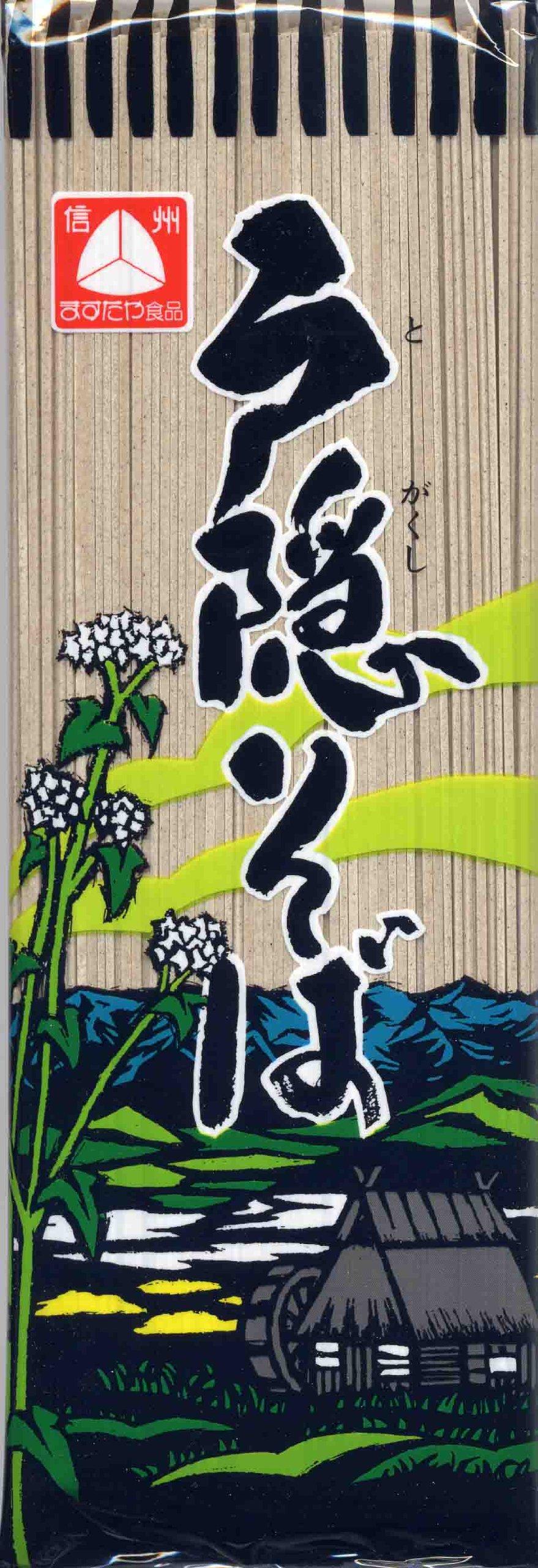 Masuda-ya Togakushi buckwheat 180gX5 pieces