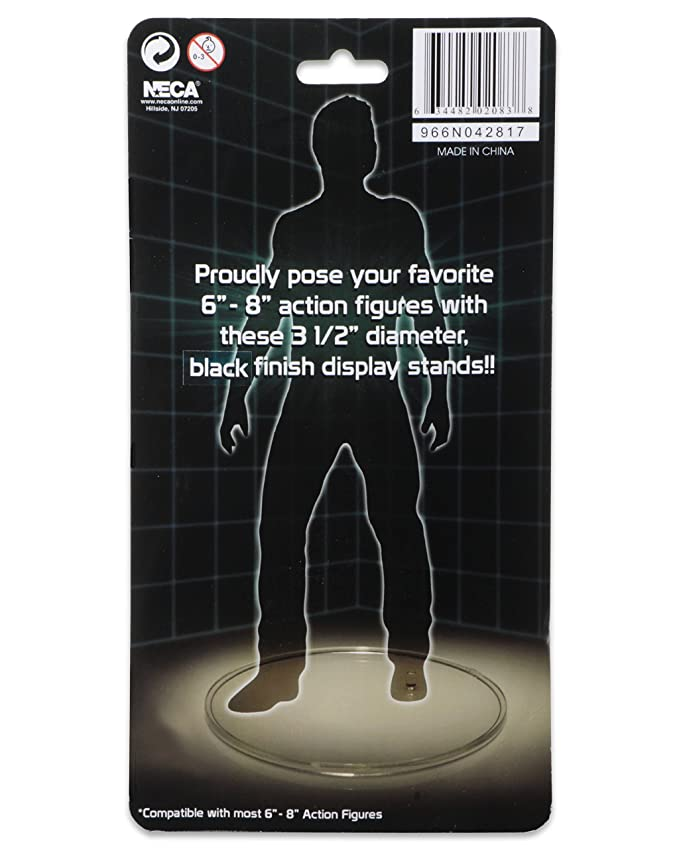 AmazondeACTION FIGURE BLACK DISPLAY STAND 40PacK Fascinating Neca 1 4 Display Stand