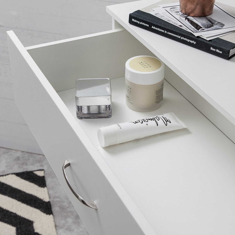 Laura James   hoch Kommode    5 Schublade    Schlafzimmer Möbel schwarz 814ecb